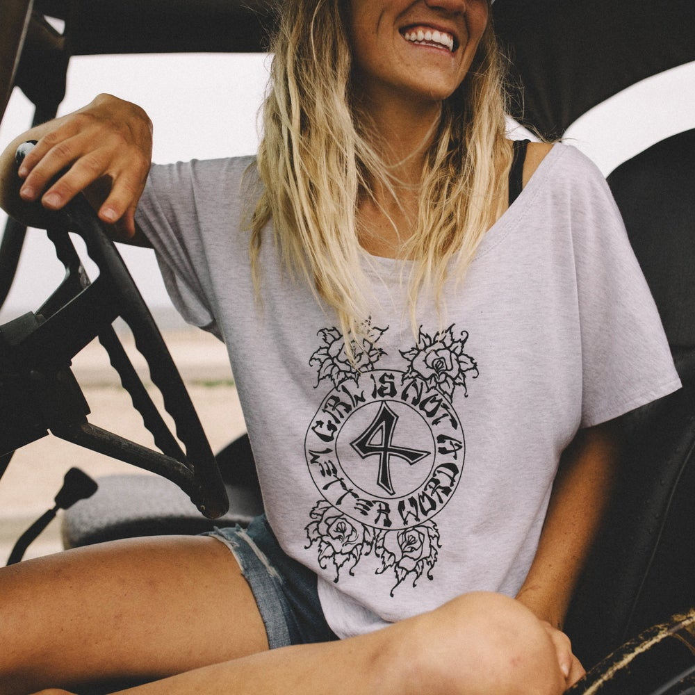 Image of NEW!! GN4LW Dogtown Inspired Logo Tee!