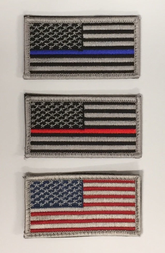 Image of American Flag Patches