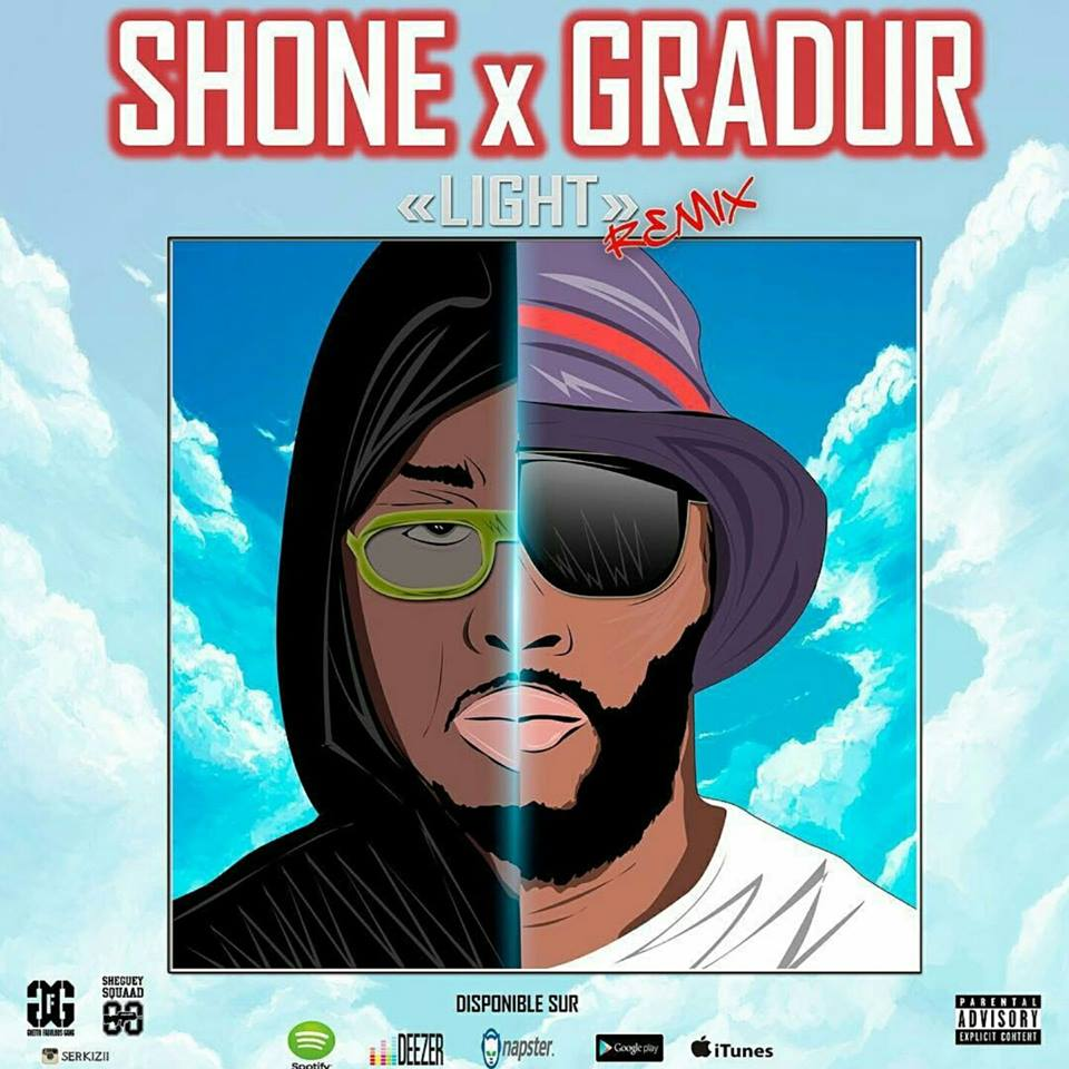 "Image of SINGLE- SHONE ft GRADUR ""LIGHT REMIX"""