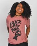 Image 1 of Black Girl Magic Women + Girls T-Shirt