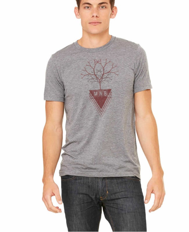 Image of MNB Tree T-Shirt (GRAY)