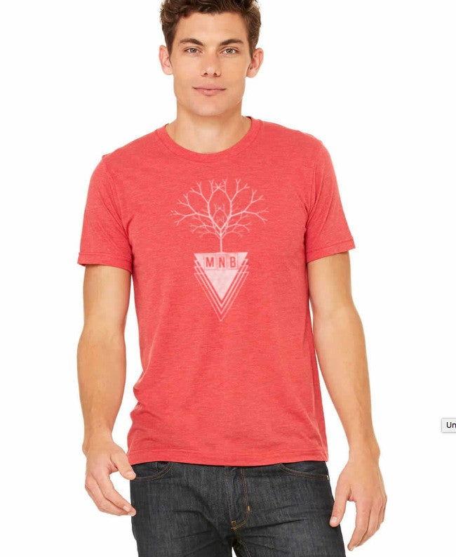 Image of MNB Tree T-Shirt (RED)