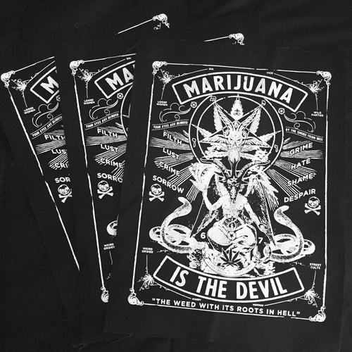 Image of DEVILWEED - BACKPATCH