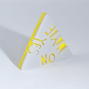 Image of Yes No Maybe Brooch
