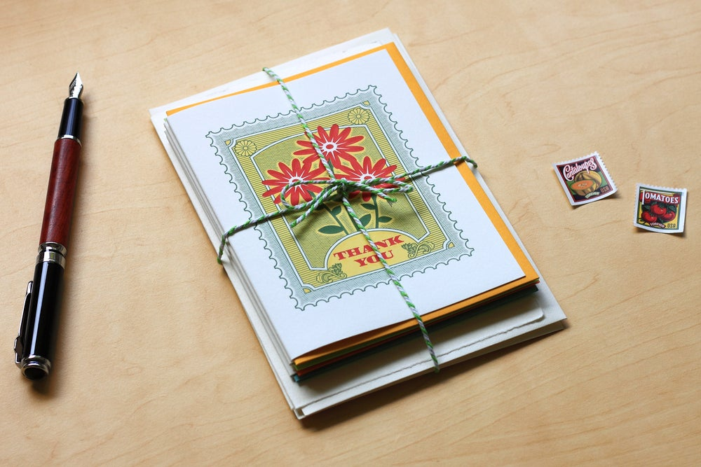 Image of CHOOSE ANY 6 Letterpress Greeting Cards — $30