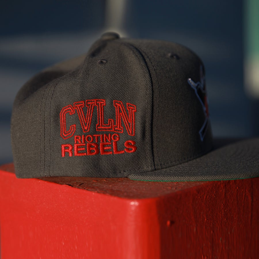 Image of Rioting Rebel Grey hat