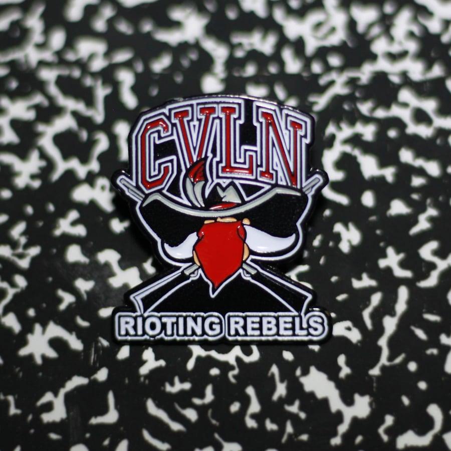 Rioting Rebel Pin