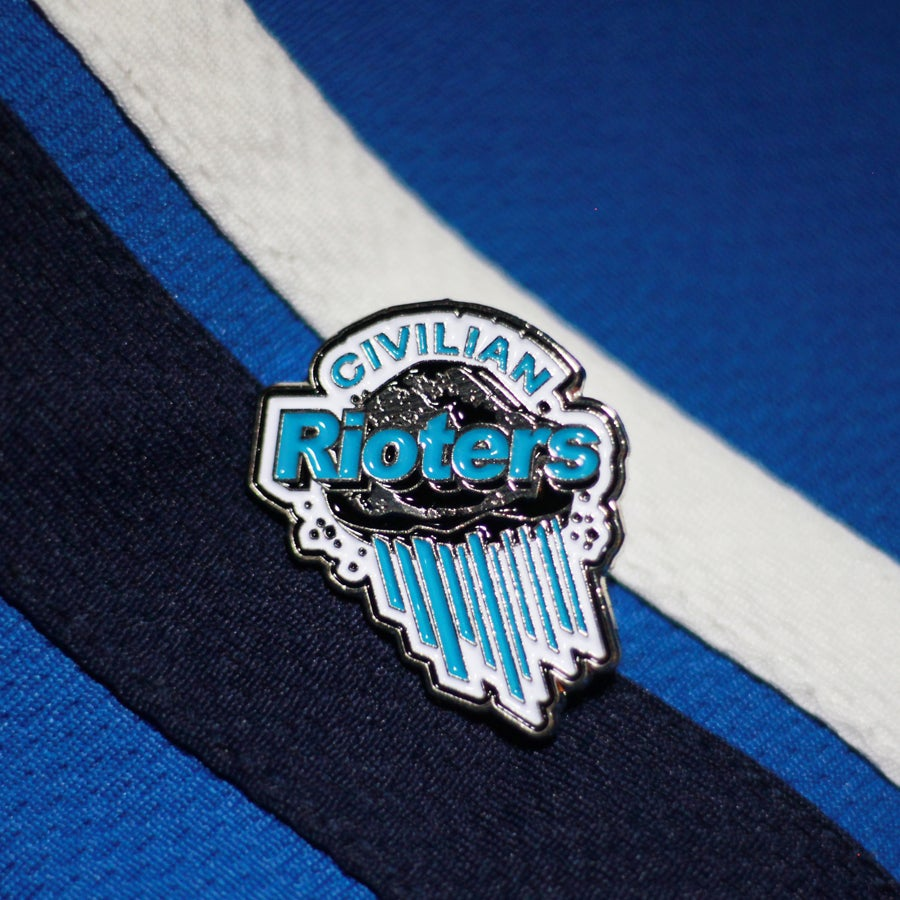 LV RIOTERS Pin