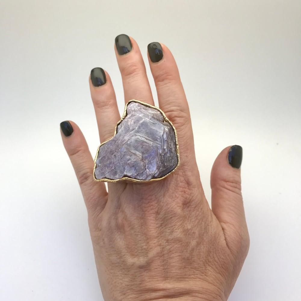 Image of Lepidolite Ring