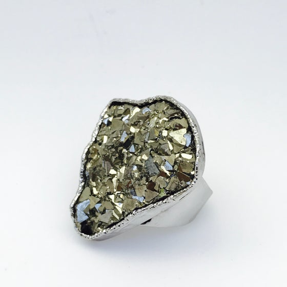 Image of Single Pyrite Druzy