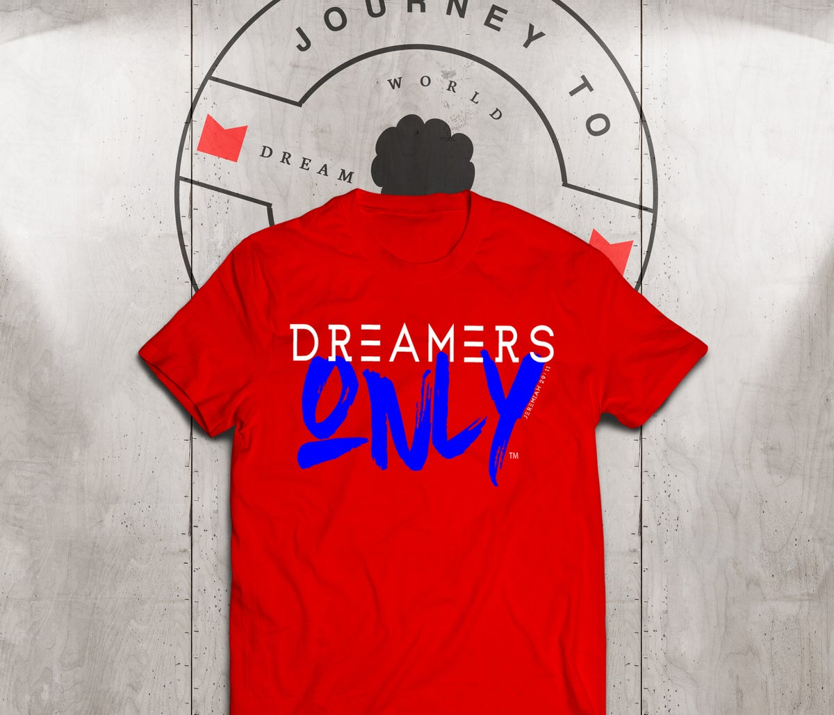 Image of DREAMERS ONLY X MOTEEF RED