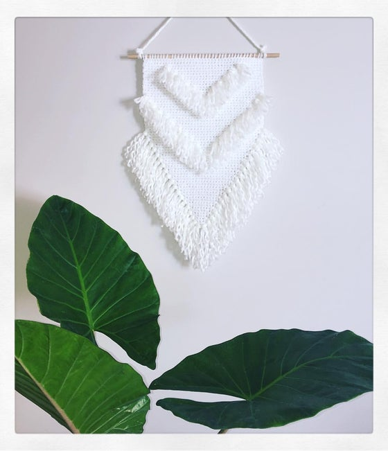 Image of White Wall Hanging
