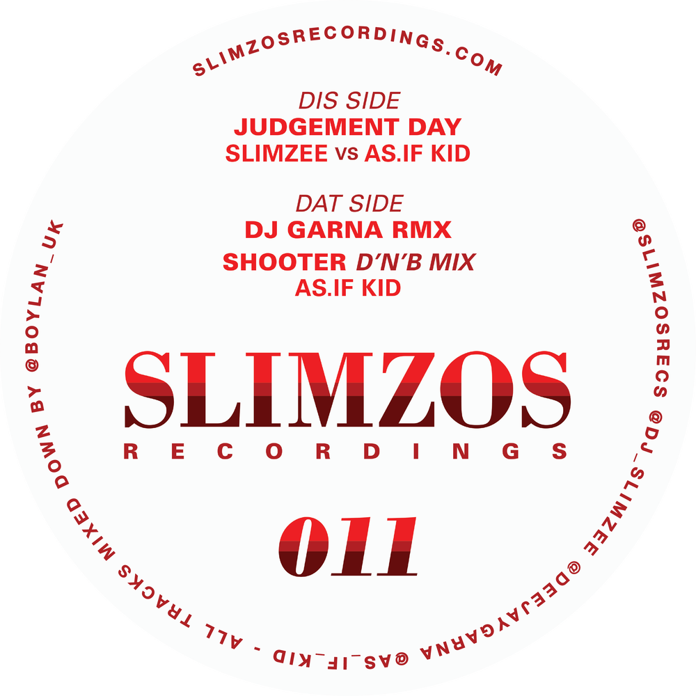 Image of Slimzos 011 Signed by DJ Slimzee