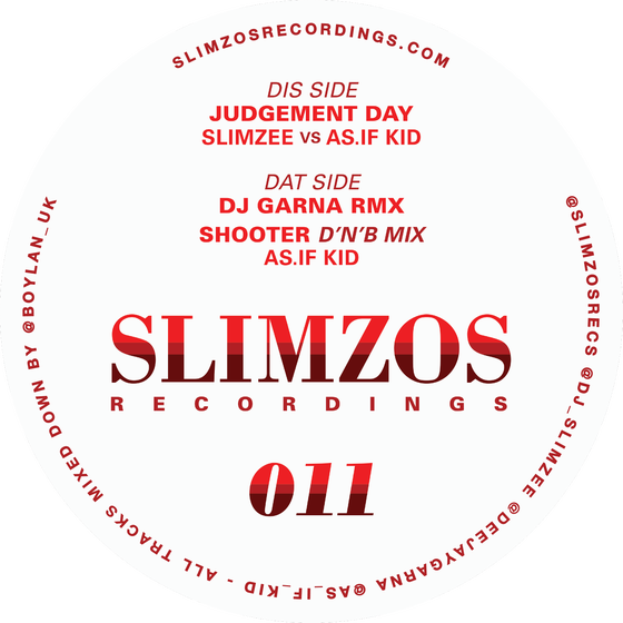 Image of Slimzos 011 Signed by DJ Slimzee (last 9 copies)