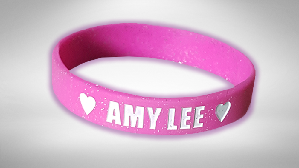 Image of Amy Lee Wristbands & Autographed Postcard!