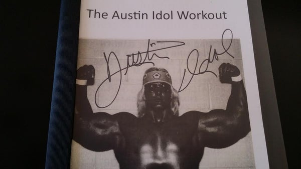 "Image of  AUSTIN IDOL'S ""EXCLUSIVE' WORKOUT ROUTINE!!"