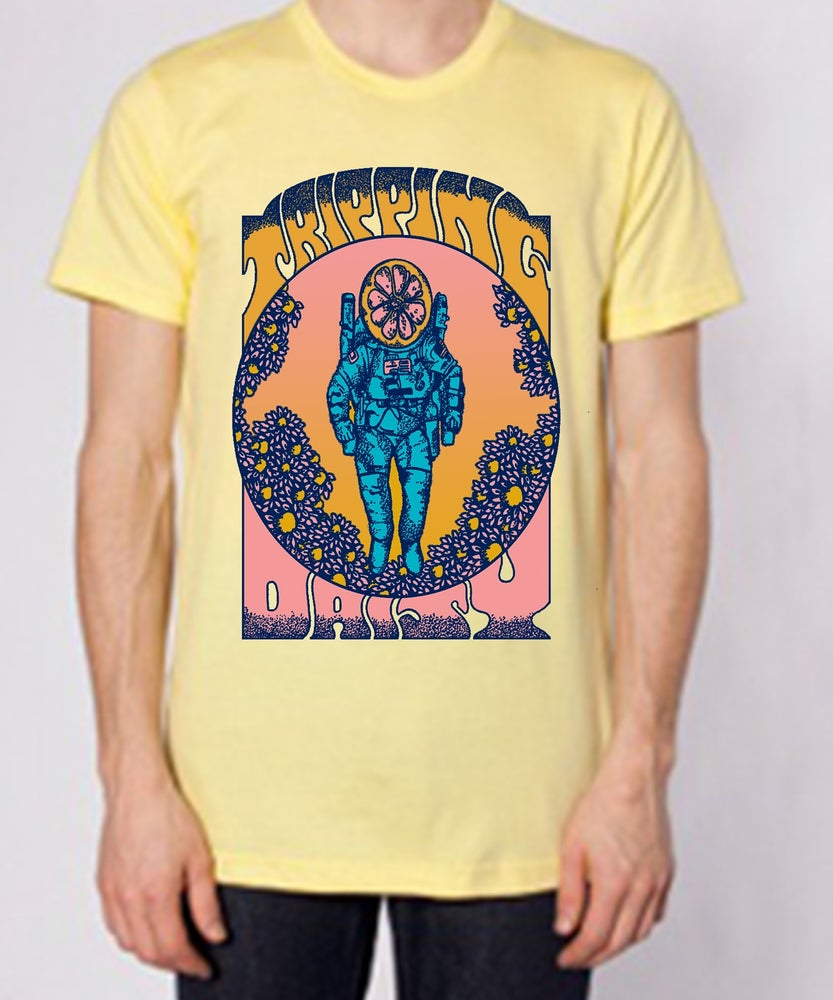 Image of Yellow Spaceman shirt