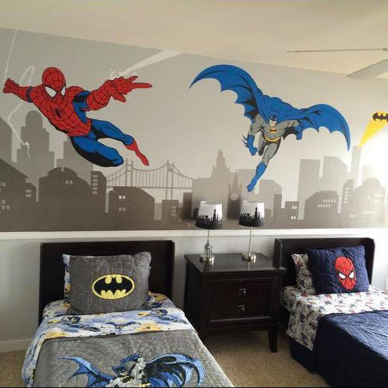 Superhero Removable Wall Decals Amp Stickers By My Friend