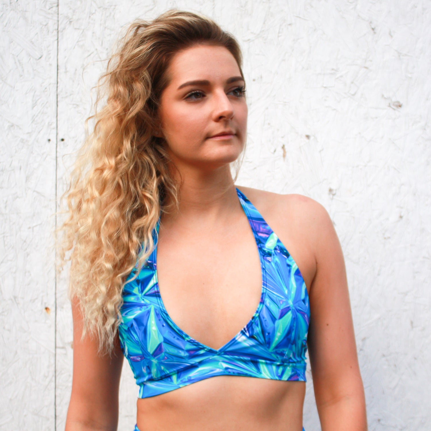 Image of Holographic Plunge Top
