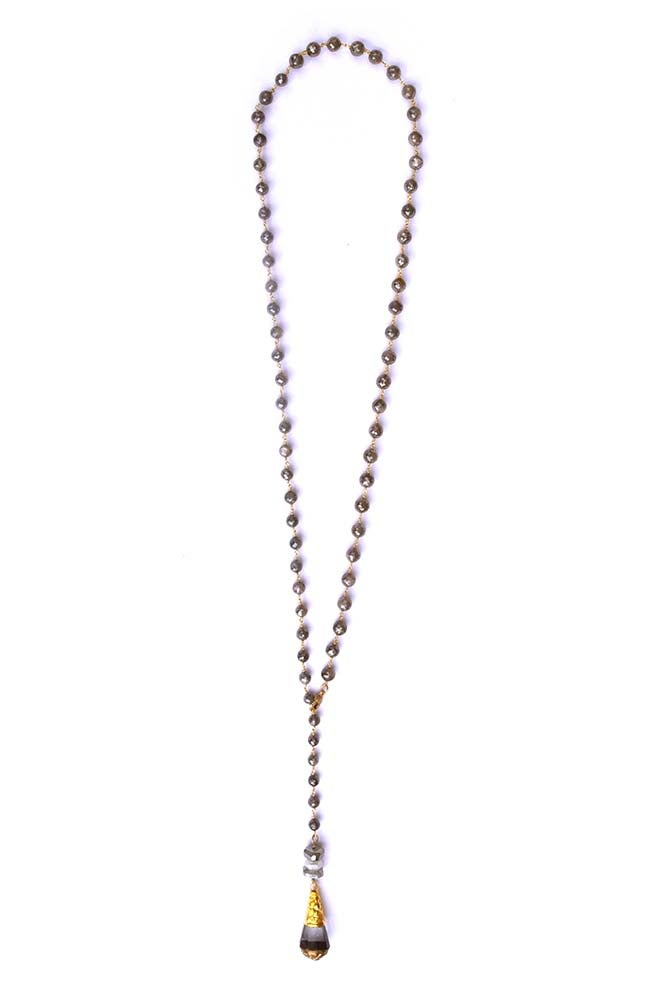 "Image of 36"" Rosary Chain Lariat"