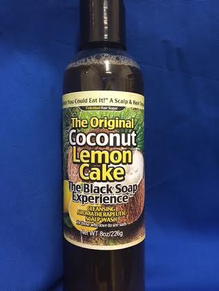 Image of Coconut Lemon Cake The Black Soap Experience 8oz