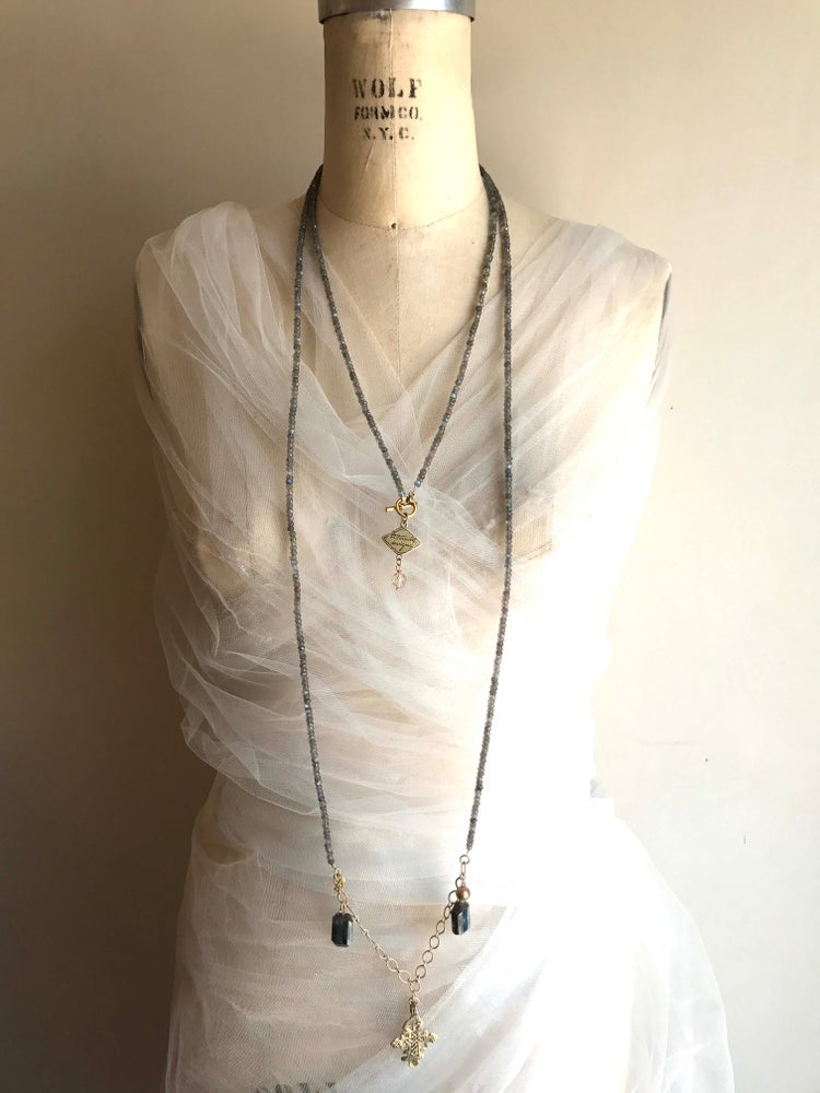 Image of Extra Long Ethnic Necklace
