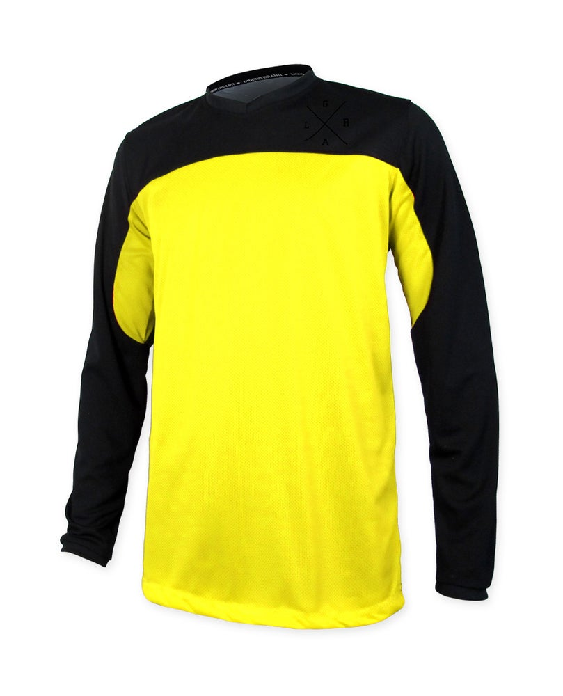 Image of Pro Series Neon Yellow - Long Sleeve Jersey