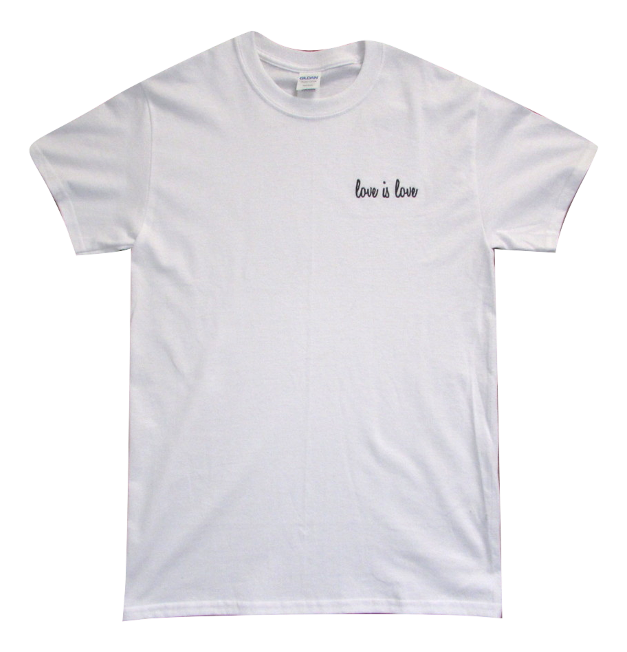 Image of White Love is Love Tee