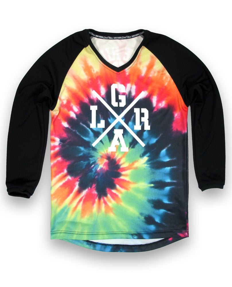 Image of Kids Tie dye Jersey - Long Sleeve.