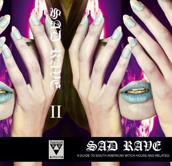 Image of [LIMITED 20] SAD RAVE VOLUME 2 CASSETTE (Design B, Cosmotropia de Xam)