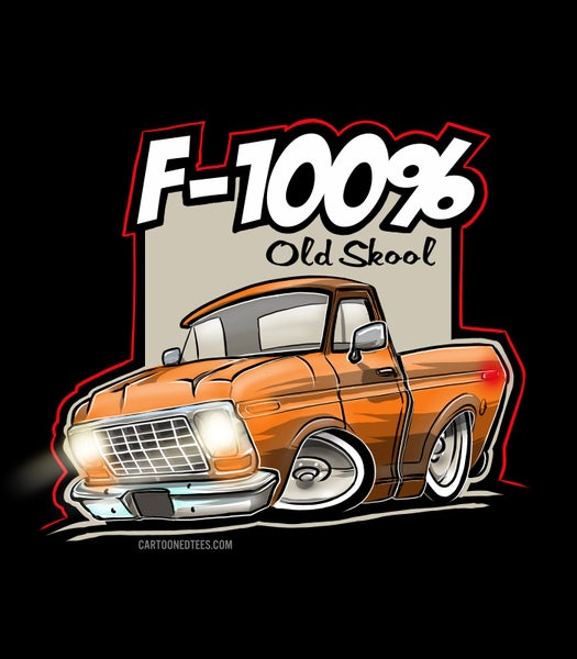 Image of '78 F100% Orange
