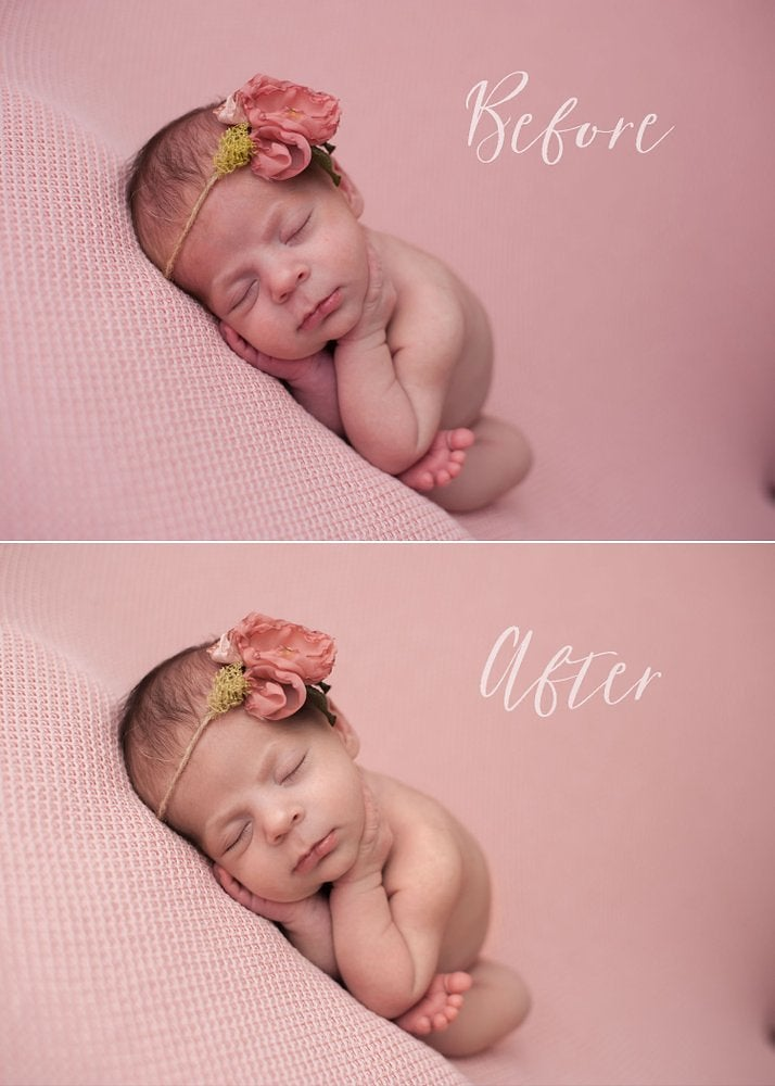 Bbps newborn skin essentials photoshop actions myrtle and moss props