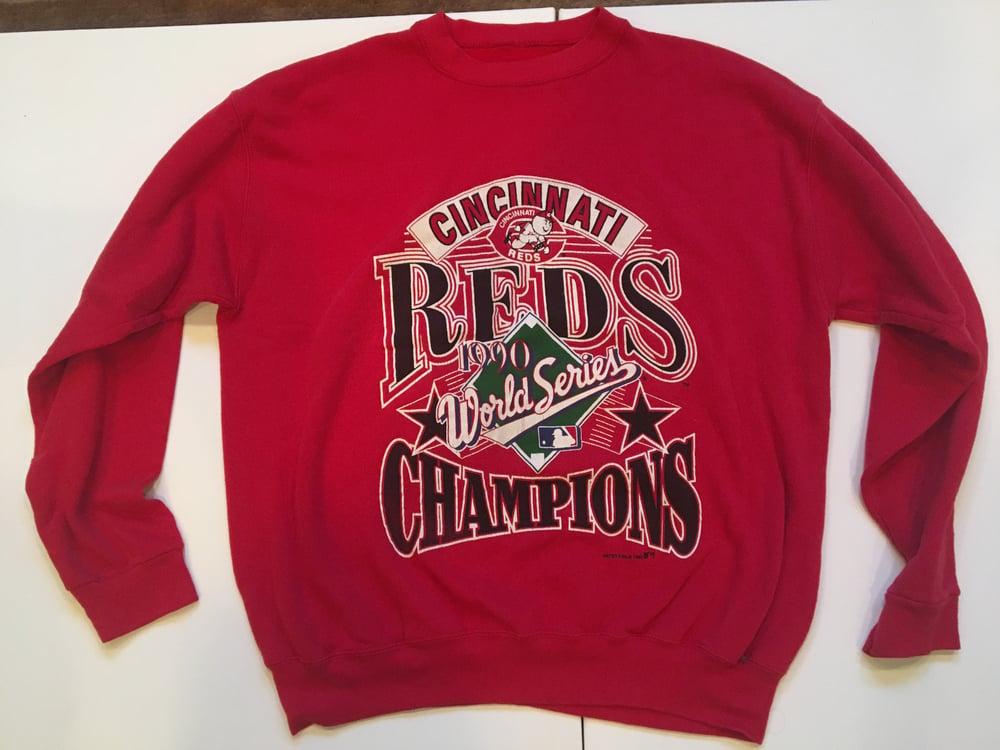 Image of Cincinnati Reds 1990 World Series Champs Sweatshirt