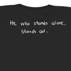 Image of Stand Alone Tee (Black)