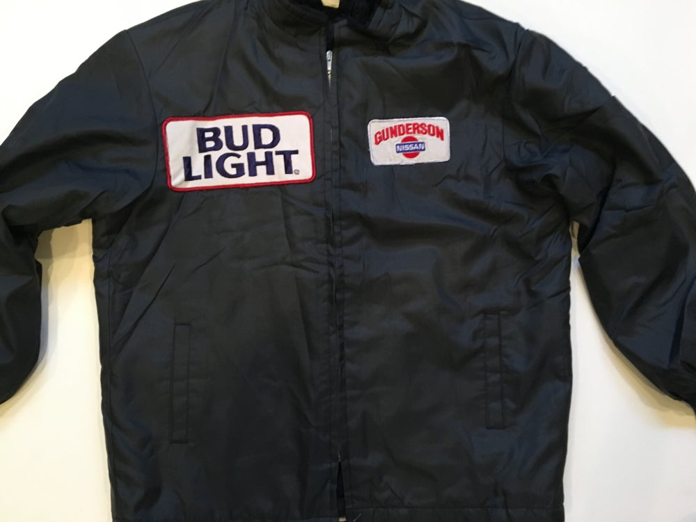 Image of Vintage Bud Light | Gunderson Nissan Jacket