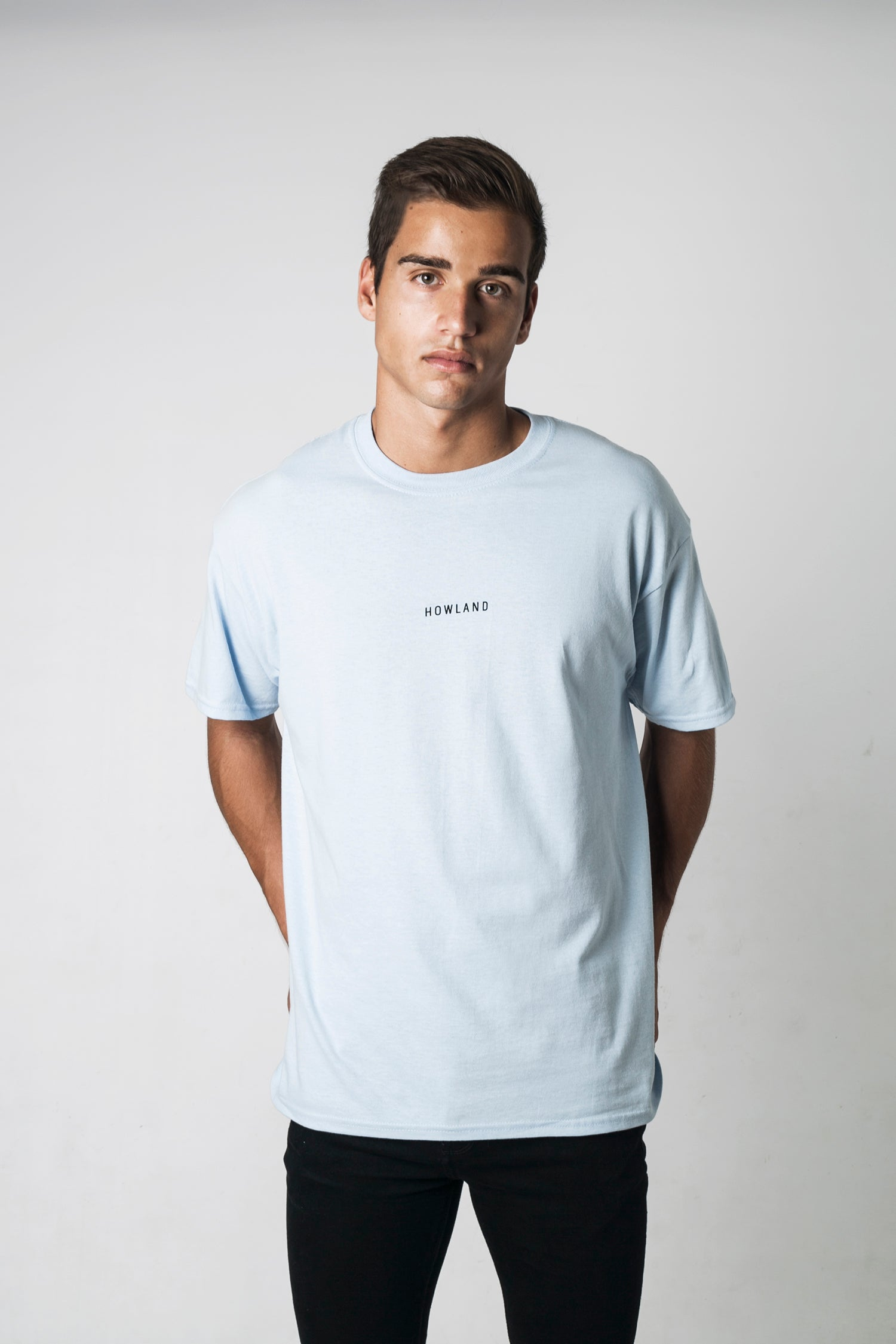 Image of LIGHT BLUE T-SHIRT