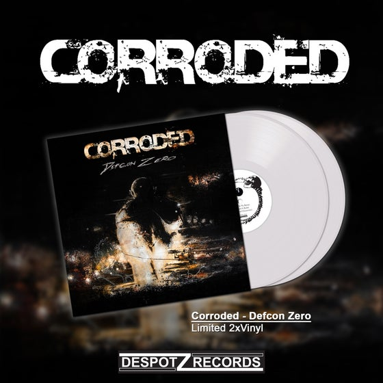 Image of Corroded - Defcon Zero (Limited White 2xVinyl)