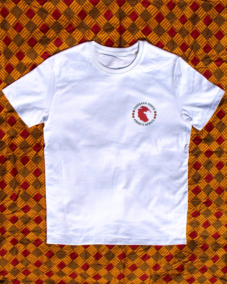 Image of PD & Anno's Africa White T Shirt (Small - Unisex)