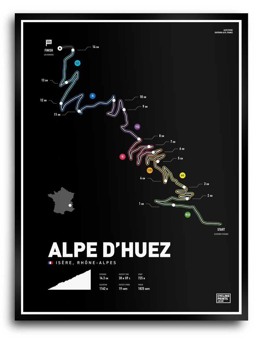 Image of Alpe D'Huez | Art Print