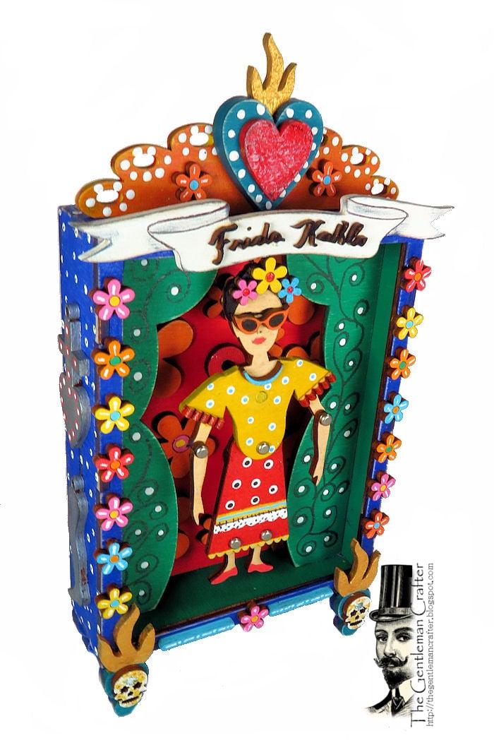 Image of Frida Kahlo Puppet Vignette Kit