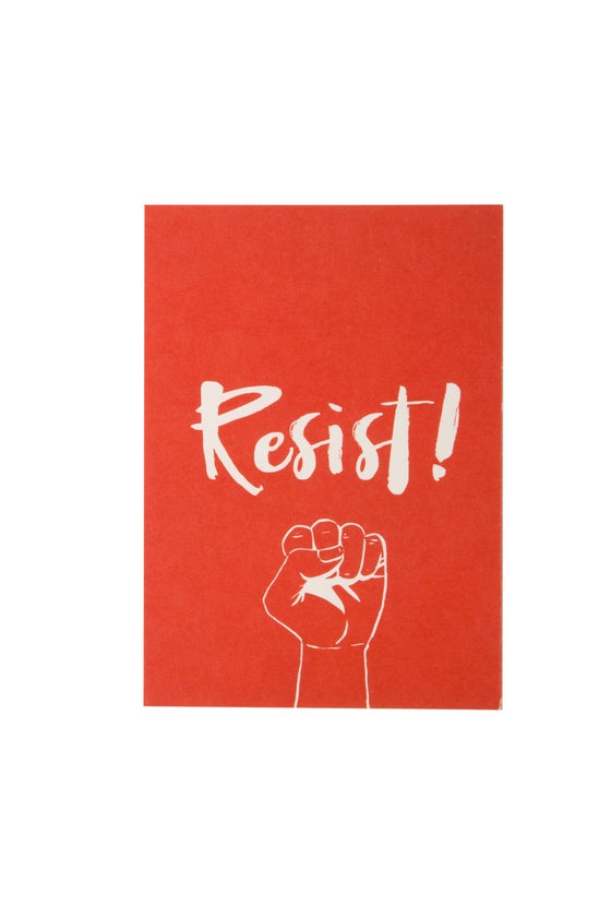 Image of Resist! 5x7 Art Print