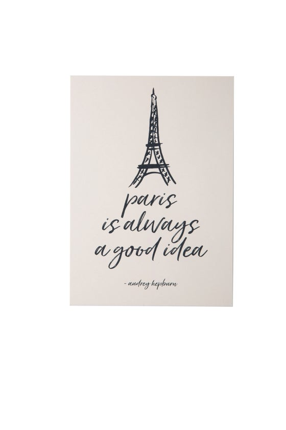 Image of Paris is Always a Good Idea 5x7 Art Print