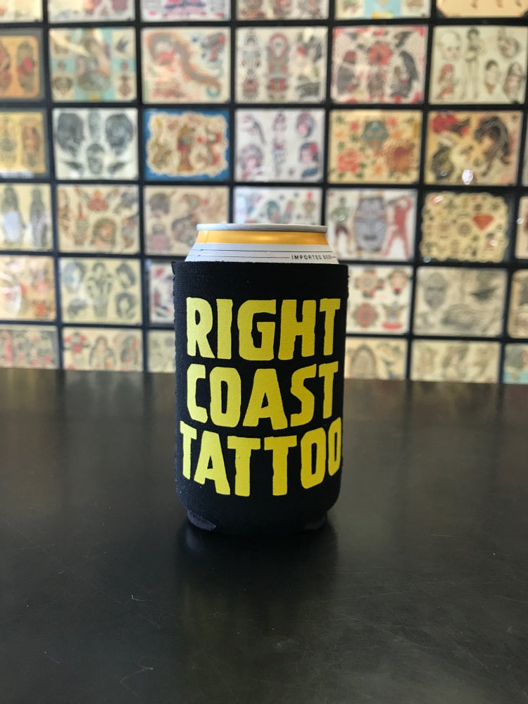 Image of RCT beverage koozie