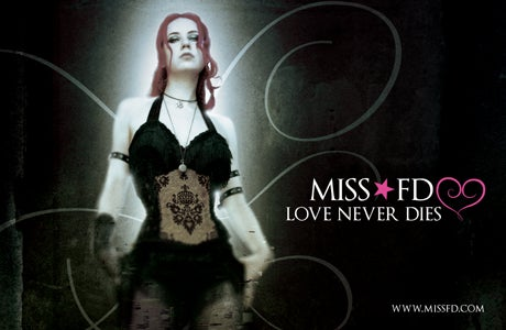 Image of Love Never Dies - Poster