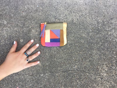 Image of Small Patchwork Coin Purse no. 1