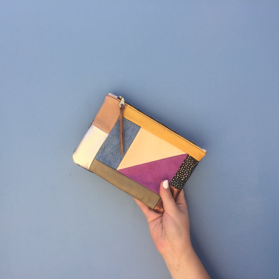 Image of Medium Patchwork Clutch no. 1