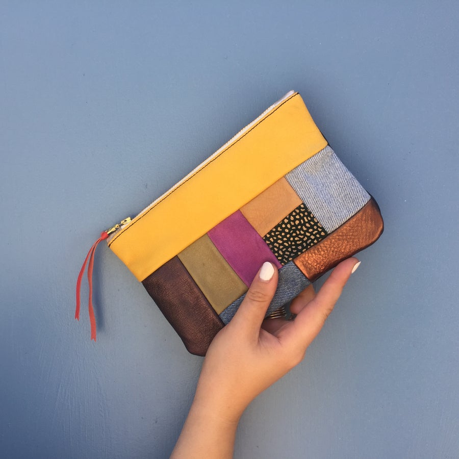 Image of Medium Patchwork Clutch no. 2