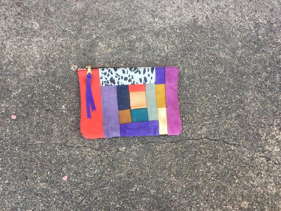 Image of Medium Patchwork Clutch no. 5