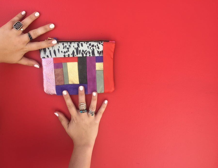 Image of Medium Patchwork Clutch no. 6