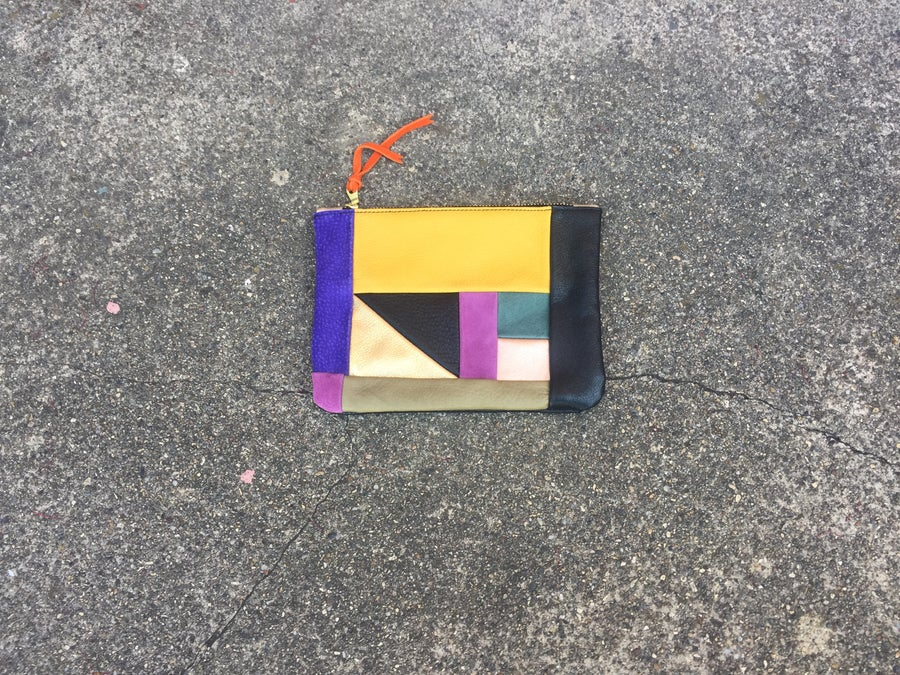 Image of Medium Patchwork Clutch no. 7